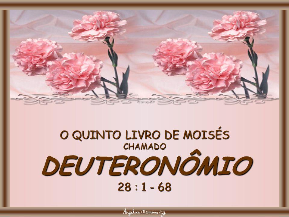 O QUINTO LIVRO DE MOISÉS CHAMADO DEUTERONÔMIO 28 : 1 - 68