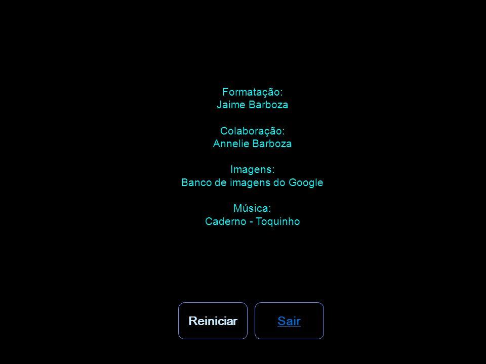 Formatação: Jaime Barboza Colaboração: Annelie Barboza Imagens: Banco de imagens do Google Música: Caderno - Toquinho ReiniciarSair