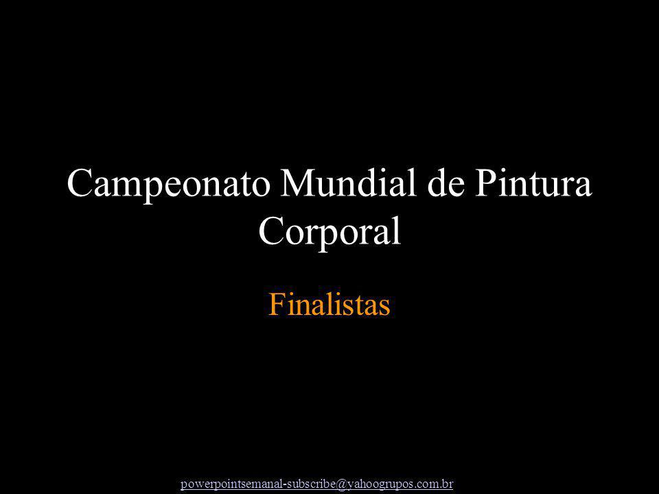 Finalistas Campeonato Mundial de Pintura Corporal