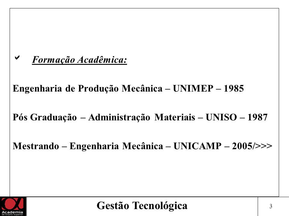 4 Experiência Profissional: Iniciativa Privada Indústrias Metalúrgicas: Nacional/Multinacional Departamentos: Engenharia, Vendas, Pós Vendas, Marketing, Logística, Suprimentos, Qualidade, Controladoria, Comércio Exterior Gestão Tecnológica