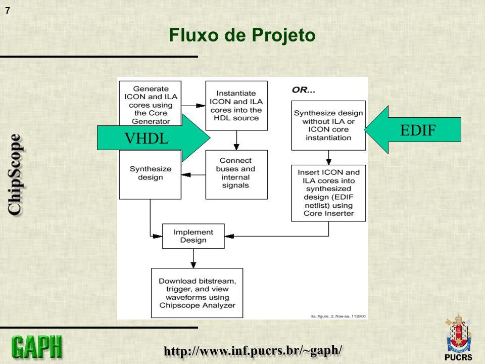7 Fluxo de Projeto VHDL EDIF