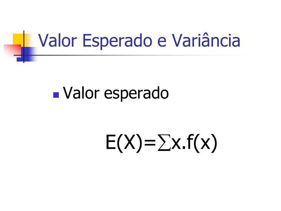 Exemplo: Verifique as condições 5.1 e 5.2; Qual a probabilidade de que x seja igual a 30? Qual a probabilidade de que x seja menor ou igual a25? Para