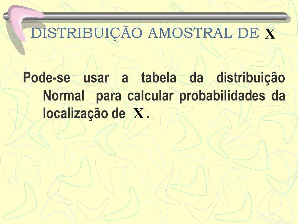 DISTRIBUIÇÃO AMOSTRAL DE 5.