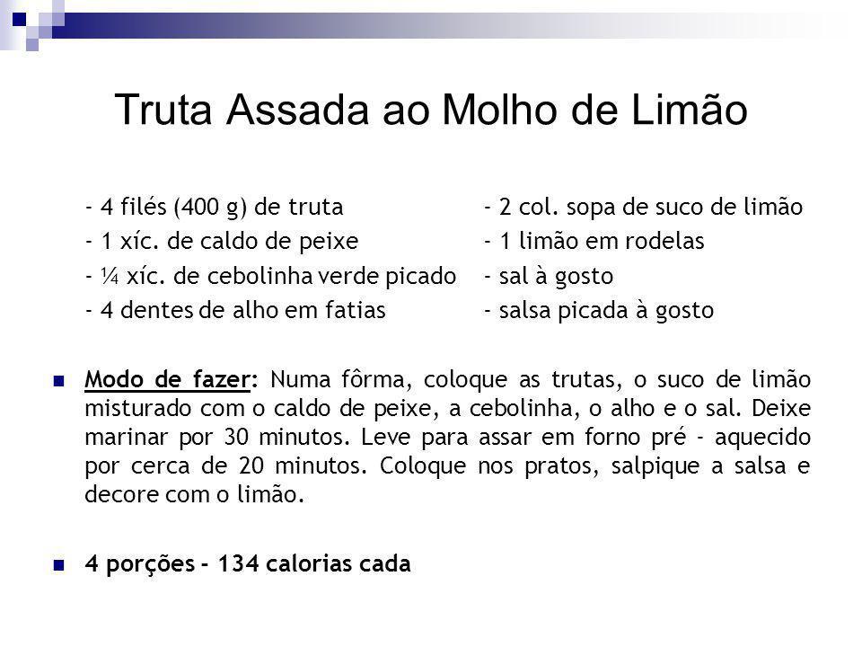 Cação ao Pirão Baiano - 4 postas de cação- sal à gosto - suco de ½ limão- 1 col.
