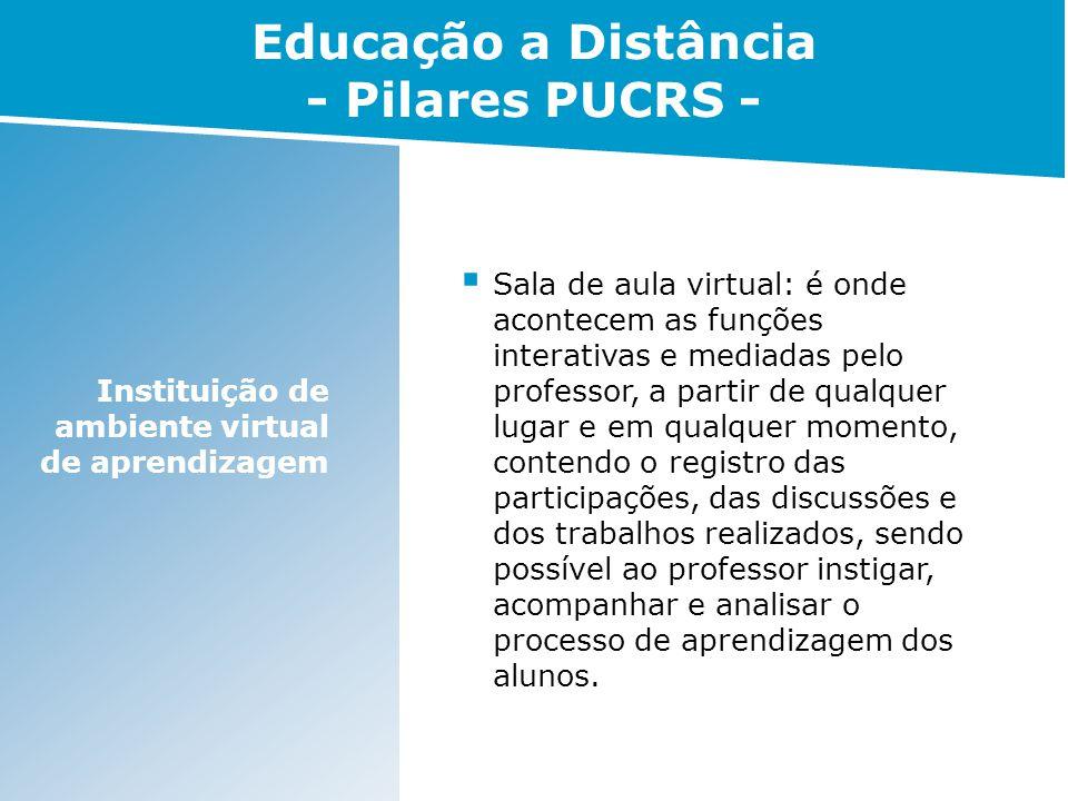 Presencialidade virtual Visibilidade do professor e do aluno.