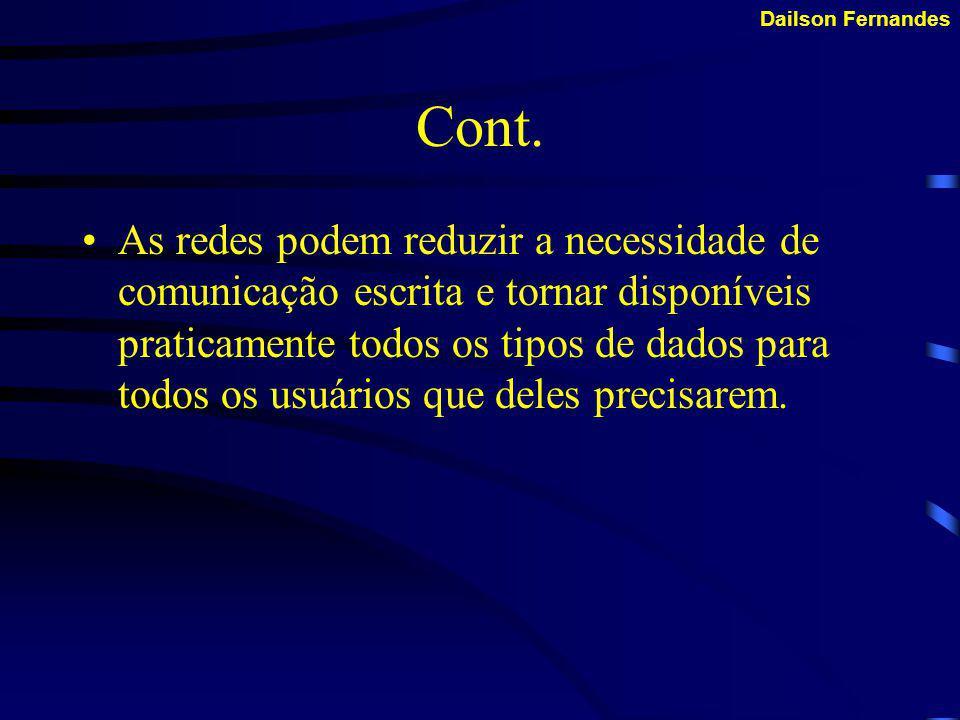 Dailson Fernandes Cont.