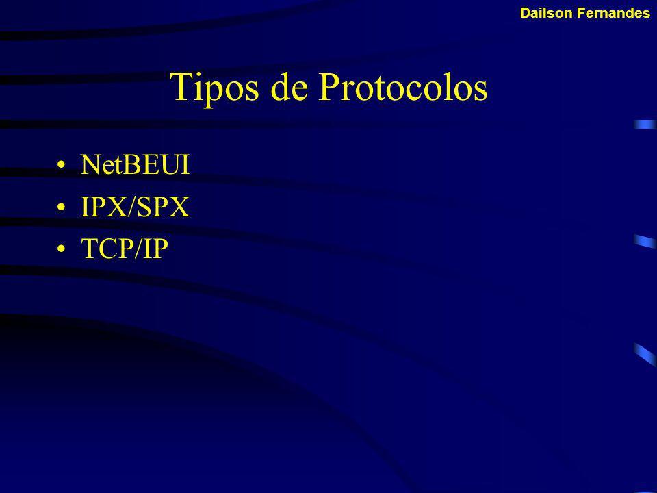 Dailson Fernandes Como os protocolos trabalham.