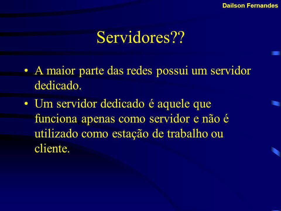 Dailson FernandesTipos de Servidores