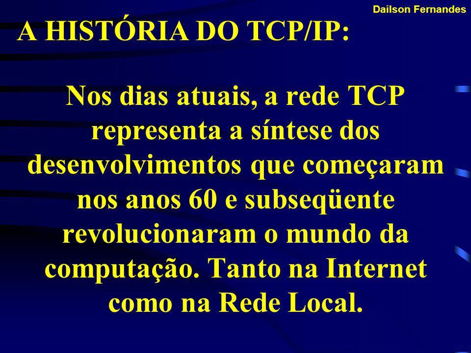TCP/IP AS PRIMÍCIAS