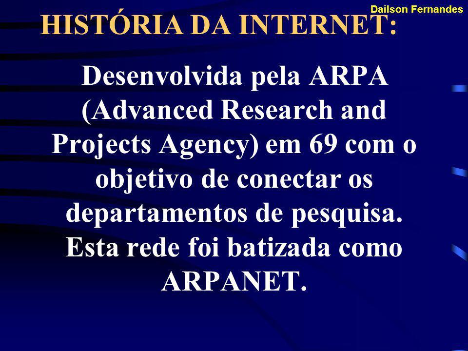 TCP/IP O ADVENTO DA INTERNET