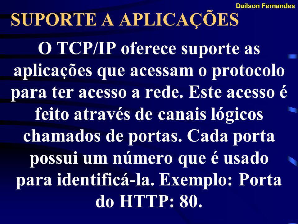 Dailson Fernandes VERIFICAÇÃO DE ERROS E CONTROLE DE FLUXO Capacidade do TCP/IP de garantir a integridade dos dados que trafegam pela rede. Os recurso