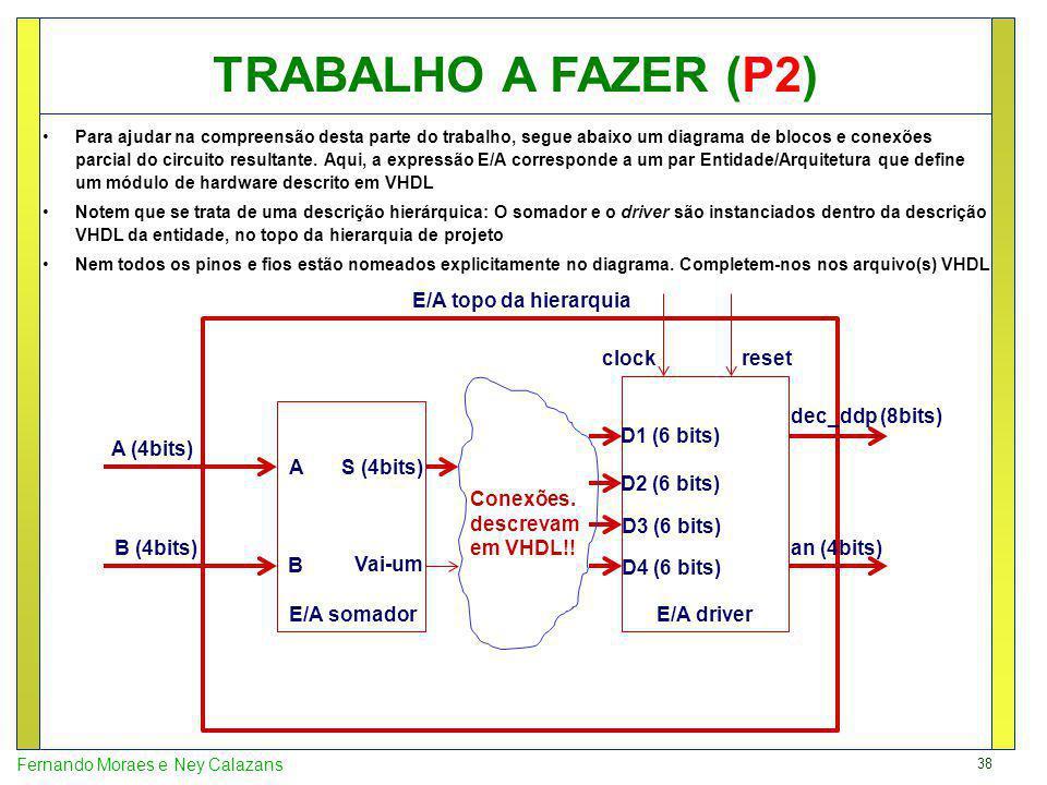 38 Fernando Moraes e Ney Calazans Para ajudar na compreensão desta parte do trabalho, segue abaixo um diagrama de blocos e conexões parcial do circuit