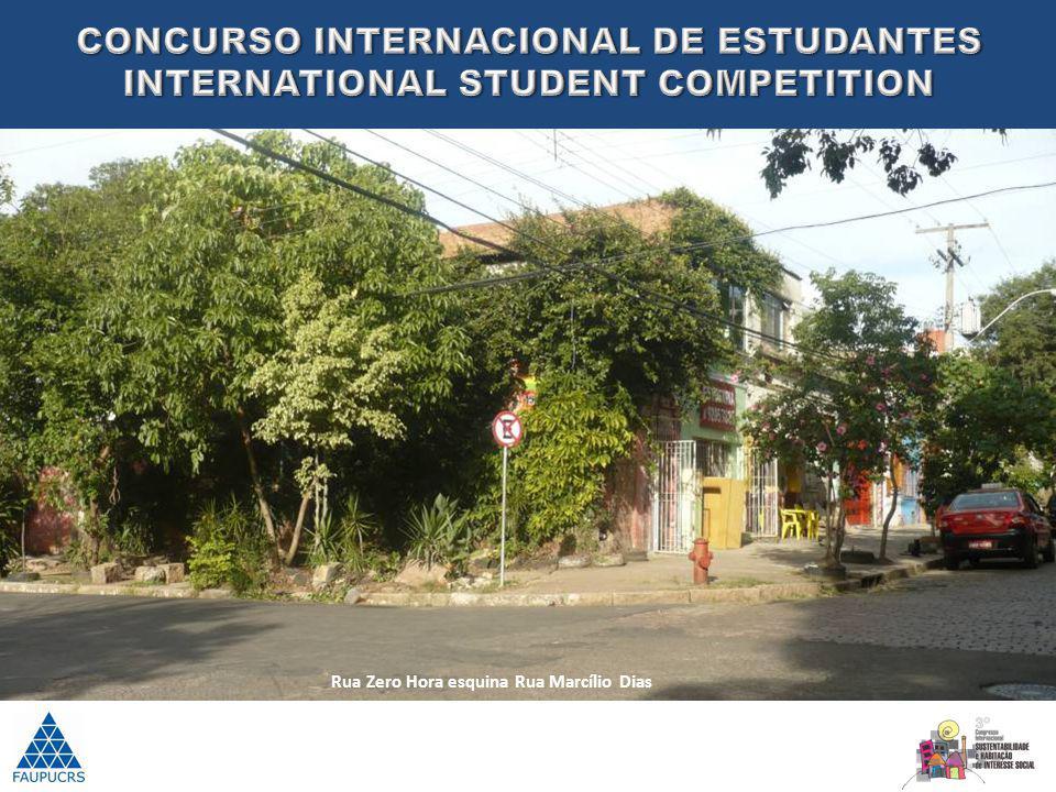 Rua Zero Hora esquina Rua Marcílio Dias