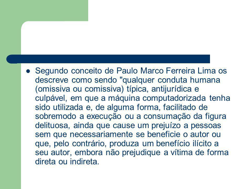 Segundo conceito de Paulo Marco Ferreira Lima os descreve como sendo