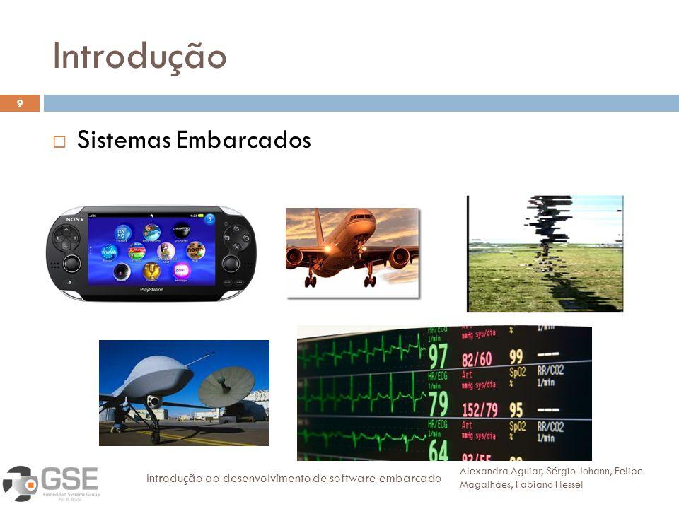 Introdução 9 Sistemas Embarcados Alexandra Aguiar, Sérgio Johann, Felipe Magalhães, Fabiano Hessel Introdução ao desenvolvimento de software embarcado