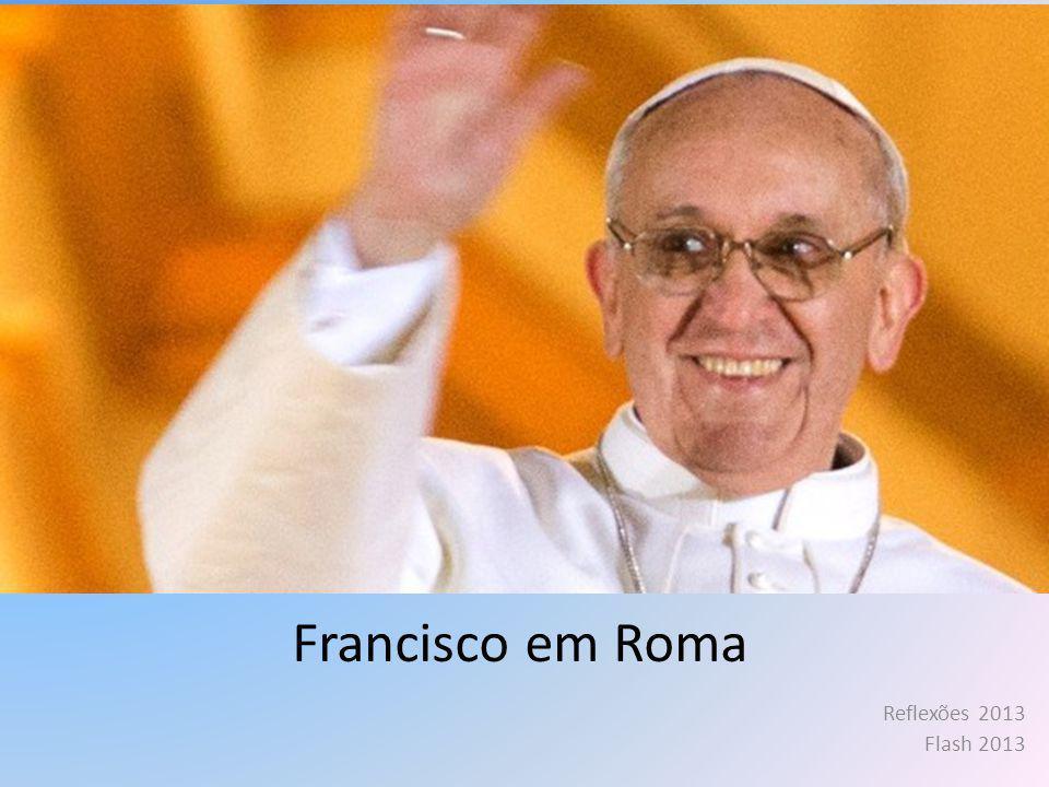Francisco, já quase esquecido, Um Bergoglio do sul da Terra Que foi ser Bispo de Roma.