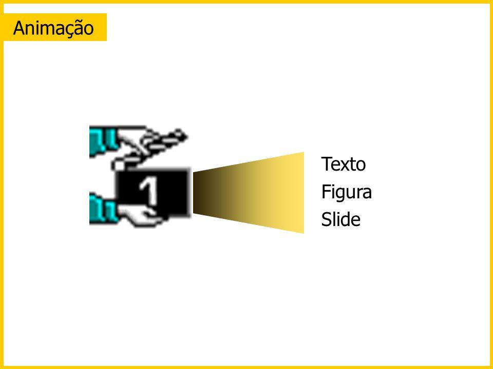 Texto Figura Slide Animação