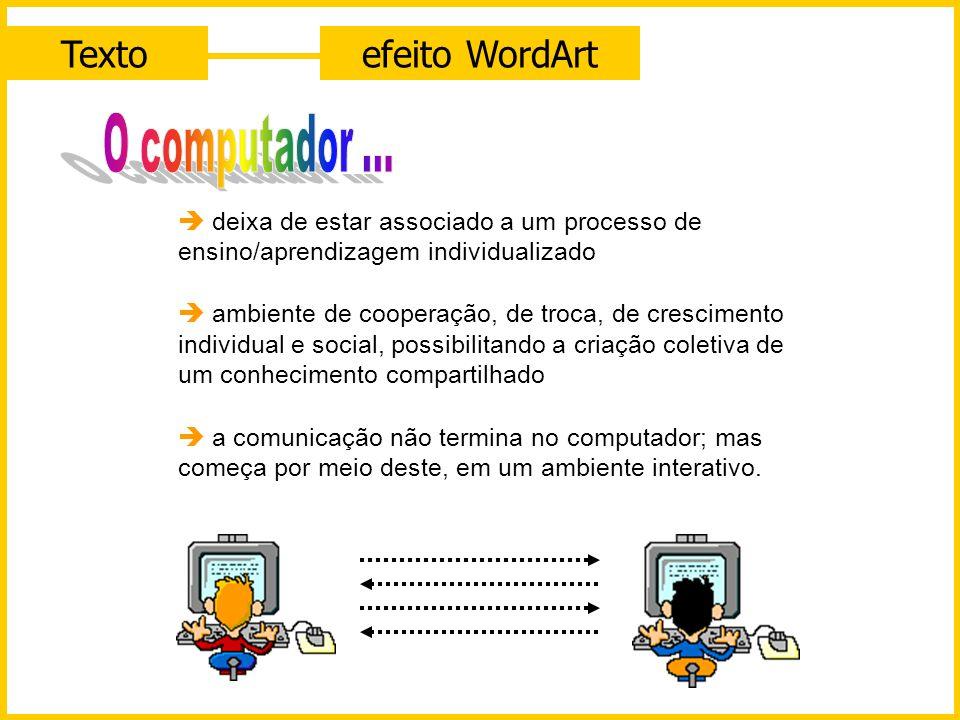 Textoefeito WordArt
