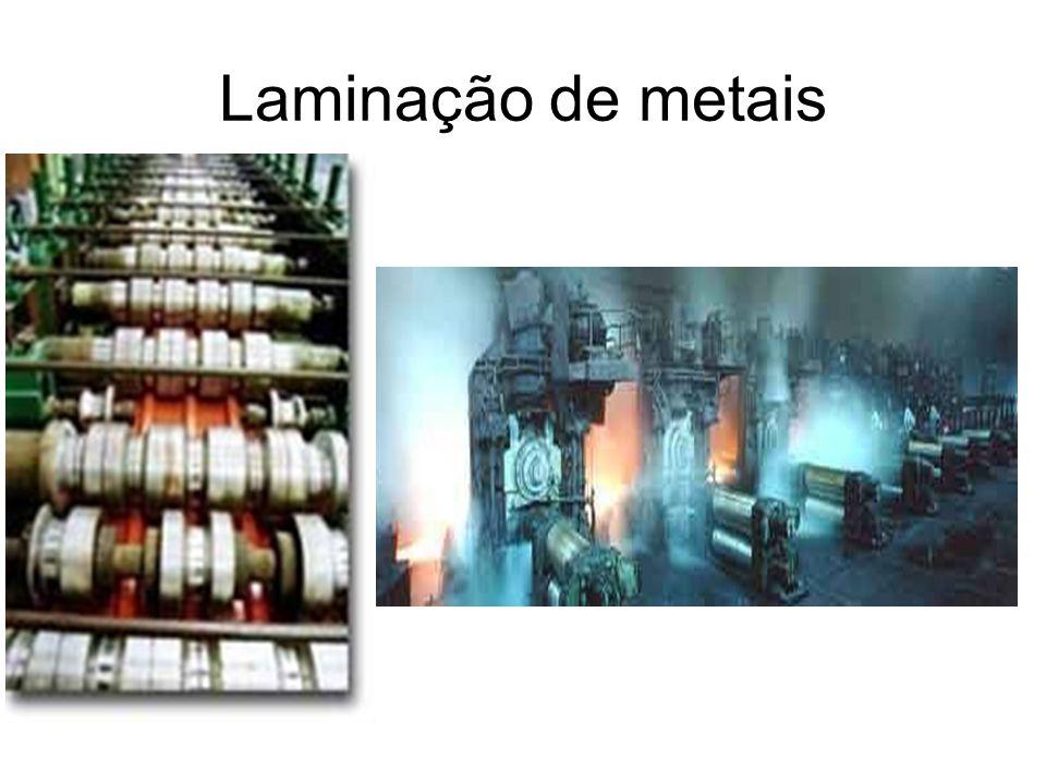 Laminação de metais