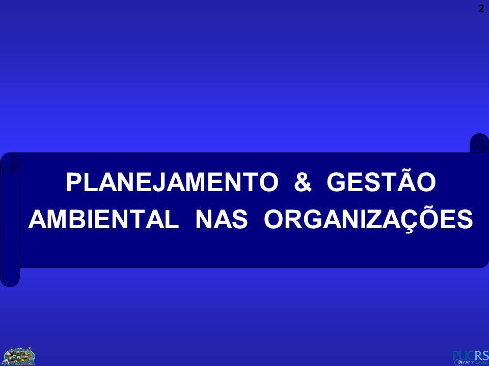 2 PLANEJAMENTO & GESTÃO AMBIENTAL NAS ORGANIZAÇÕES