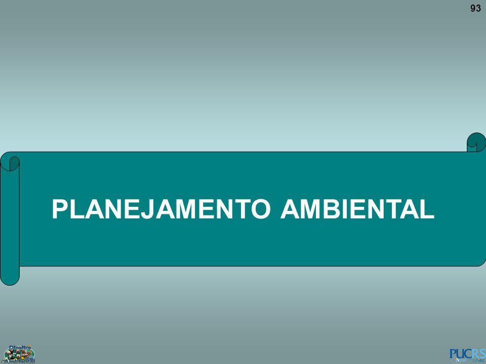 93 PLANEJAMENTO AMBIENTAL