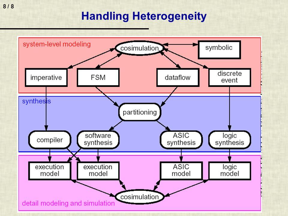 8 / 8 Handling Heterogeneity