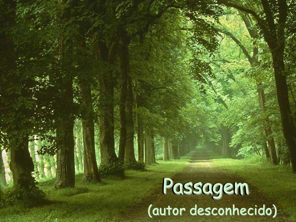 PassagemPassagem PassagemPassagem (autor desconhecido)