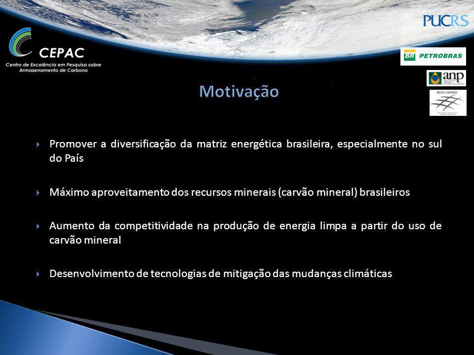 Promover a diversificação da matriz energética brasileira, especialmente no sul do País Máximo aproveitamento dos recursos minerais (carvão mineral) b
