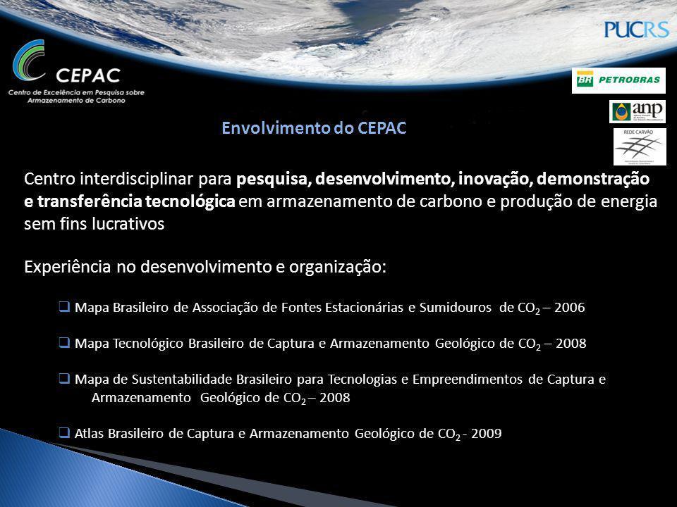 Centro interdisciplinar para pesquisa, desenvolvimento, inovação, demonstração e transferência tecnológica em armazenamento de carbono e produção de e