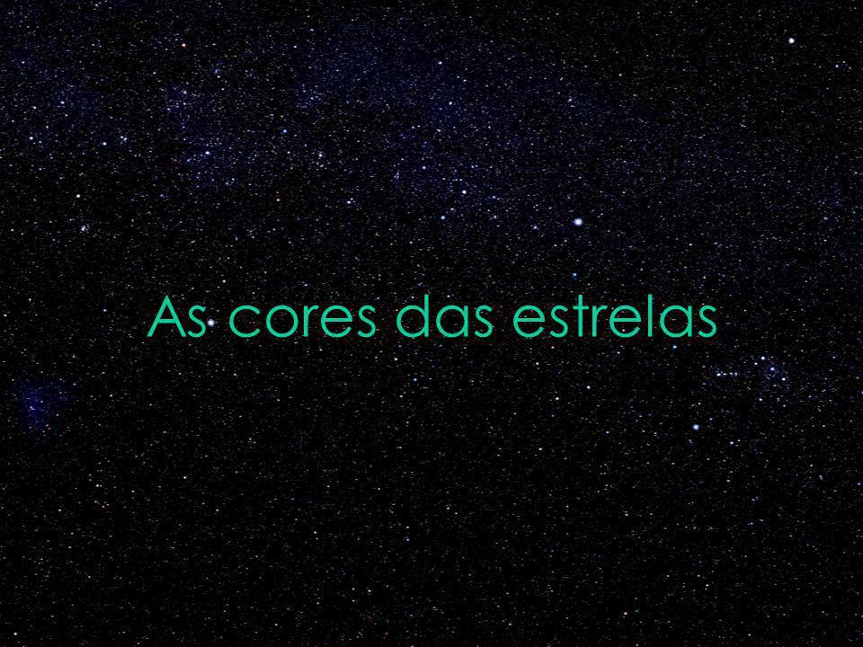 As cores das estrelas