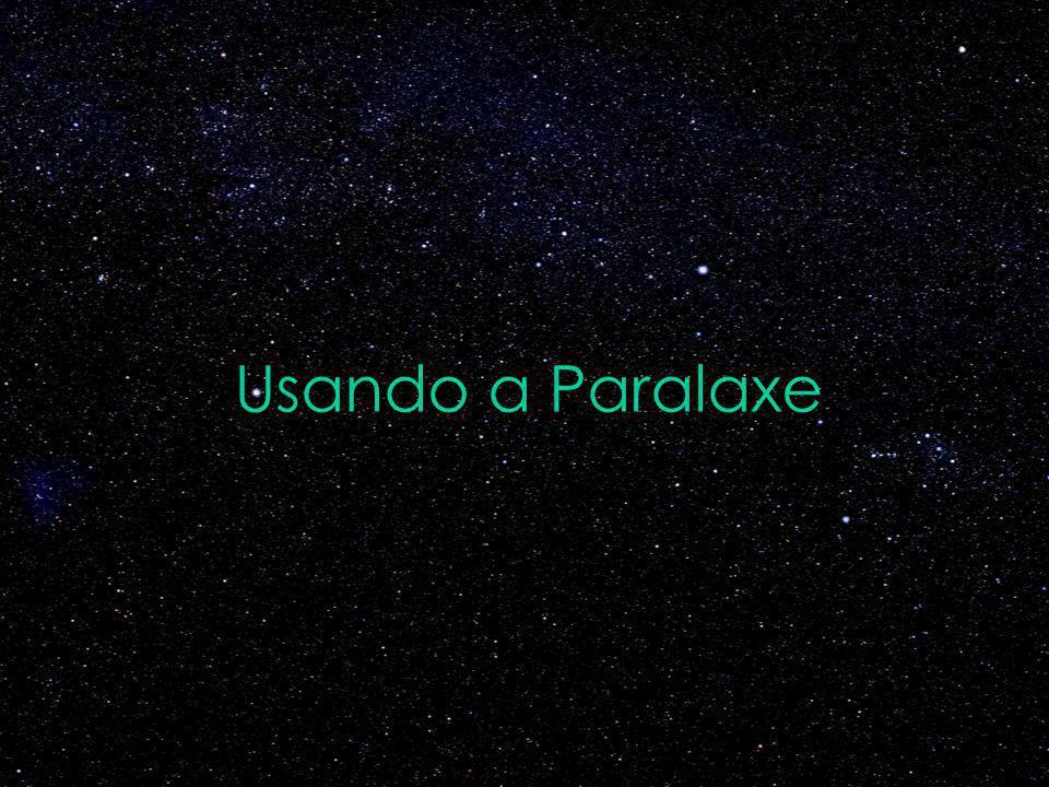 Usando a Paralaxe