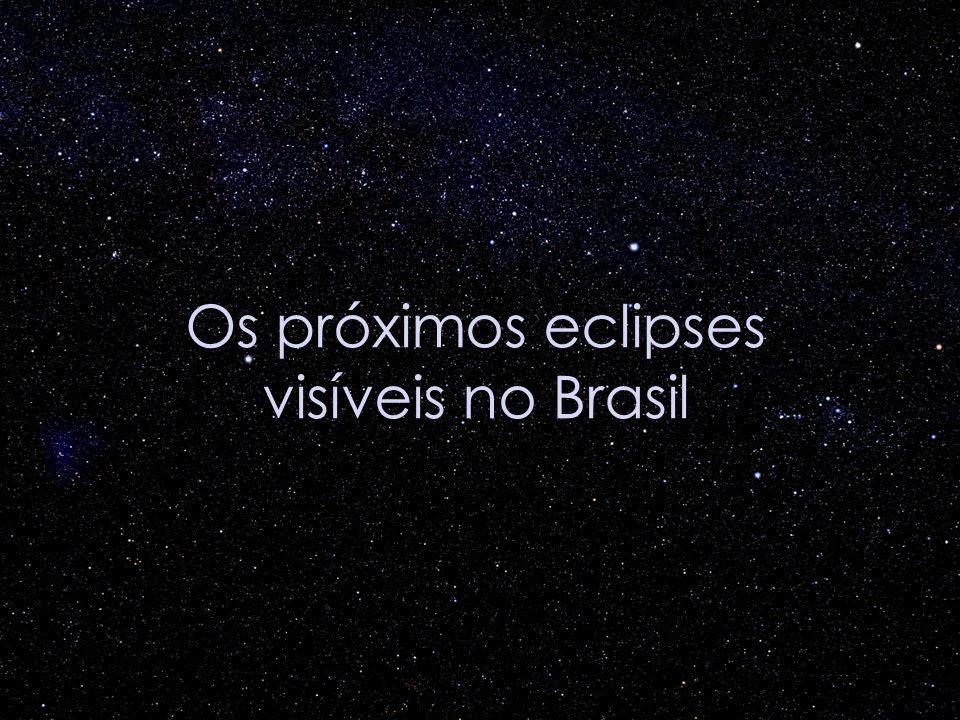 Os próximos eclipses visíveis no Brasil