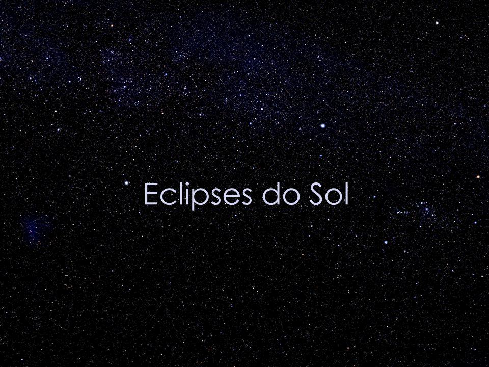 Data e visibilidade dos próximos eclipses