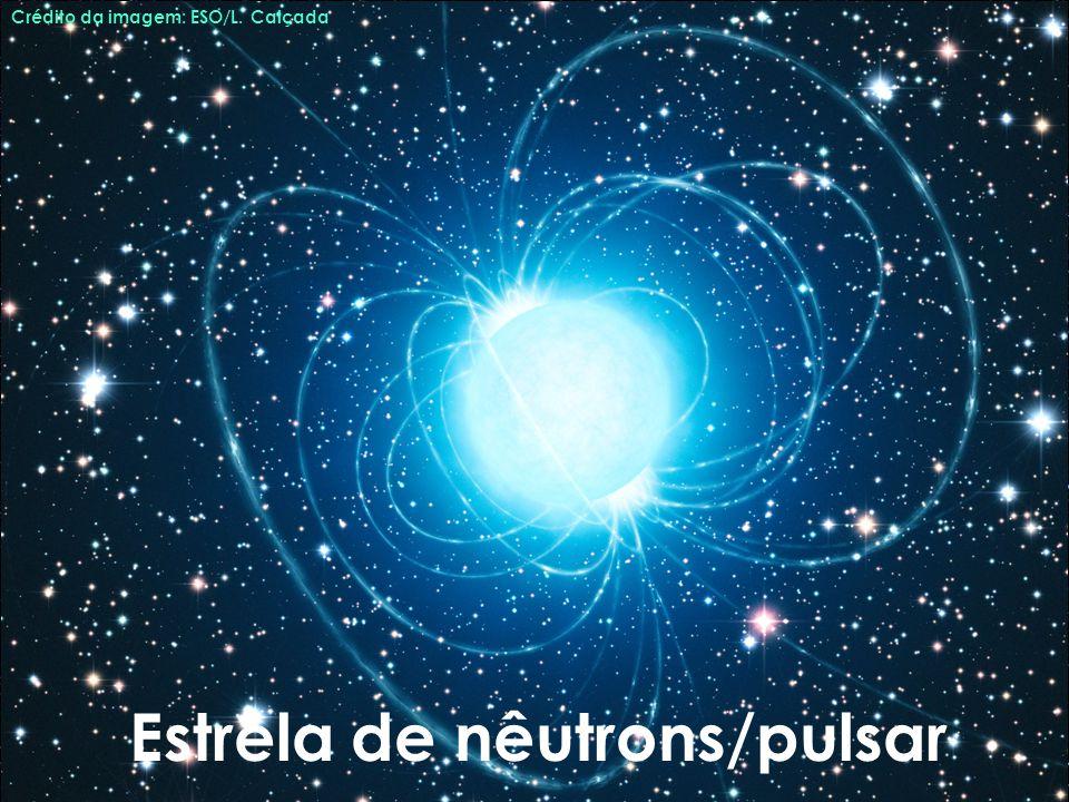 Estrela de nêutrons/pulsar Crédito da imagem: ESO/L. Calçada