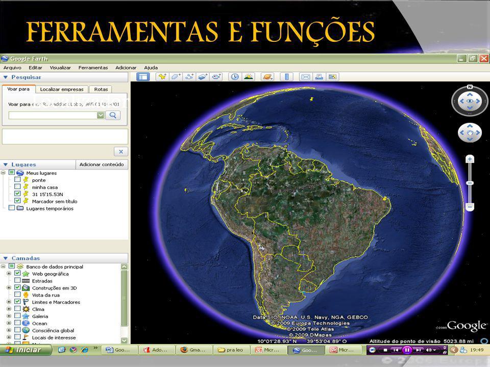 FERRAMENTAS E FUNÇÕES Localizador