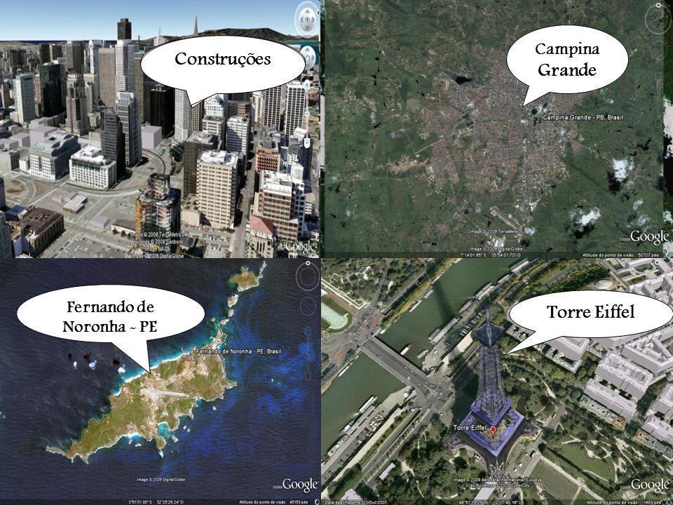 O uso de imagens de satélite do Google Earth para o ensino de projeções de coberturas.