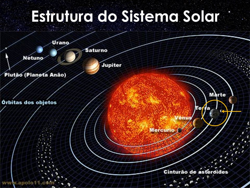 Mercúrio 4872 Km 5,43 g/cm 3 250 °C Rochoso Vênus 12104 Km 5,25 g/cm 3 447 °C Rochoso Terra 12756 Km 5,52 g/cm 3 22 °C Rochoso Marte 6787 Km 3,94 g/cm 3 - 70 °C Rochoso Júpiter 142800 Km 1,33 g/cm 3 - 150 °C Gasoso Saturno 120536 Km 0,75 g/cm 3 - 180 °C Gasoso Urano 51800 Km 1,29 g/cm 3 - 210 °C Gasoso Netuno 49528 Km 1,71 g/cm 3 - 213 °C Gasoso Planeta Anões Ceres 952 km 2,08 g/cm 3 -106 °C Rochoso Plutão ± 2351 km 2,03 g/cm 3 - 233 °C Rochoso Eris ± 2400 km 2,1 g/cm 3 -243 °C Rochoso Planeta Diâmetro Dens.