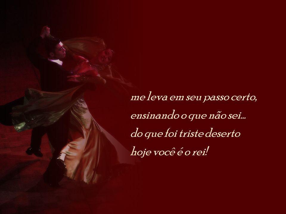 vem, amor, vamos dançar essa bela melodia e com carinho lembrar daqueles distantes dias...