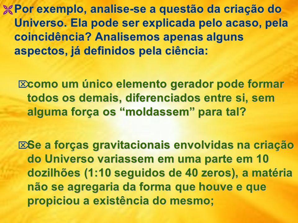 O princípio a ser analisado na questão da existência Divina é o da obra e autor; O princípio a ser analisado na questão da existência Divina é o da ob