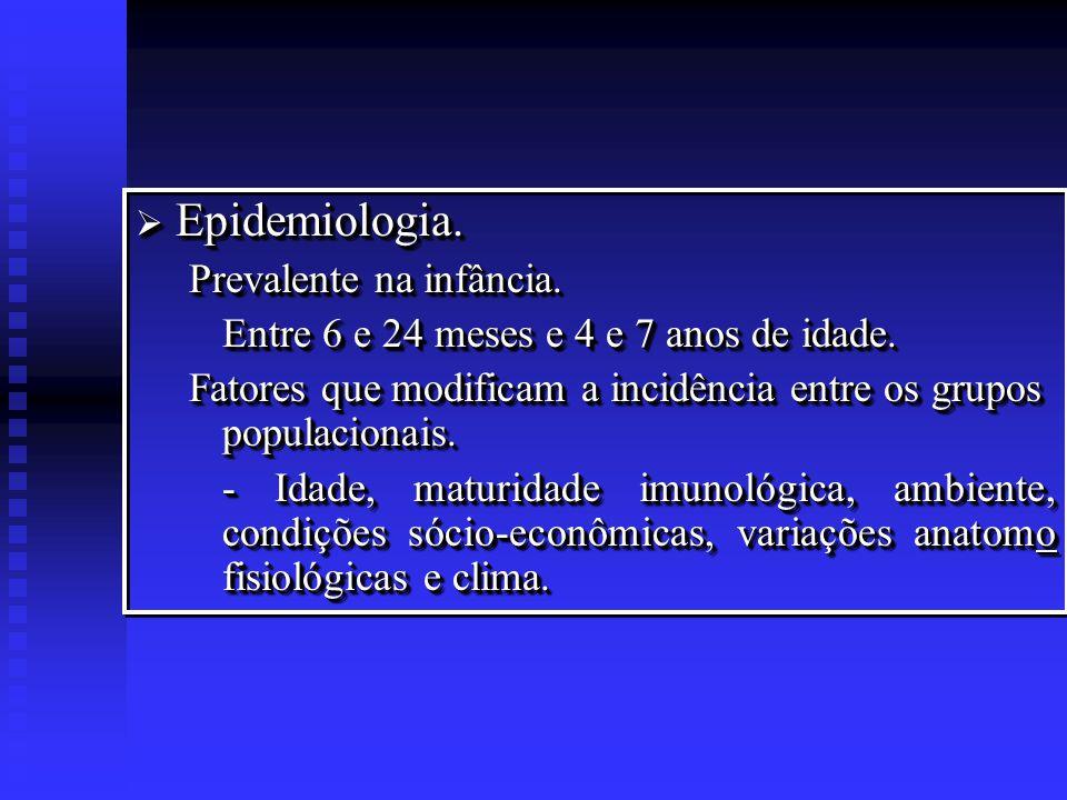 OTITE MÉDIA AGUDA IVAS DISFUNÇÃO TUBÁRIA ALERGIA BERÇARIO CRECHE