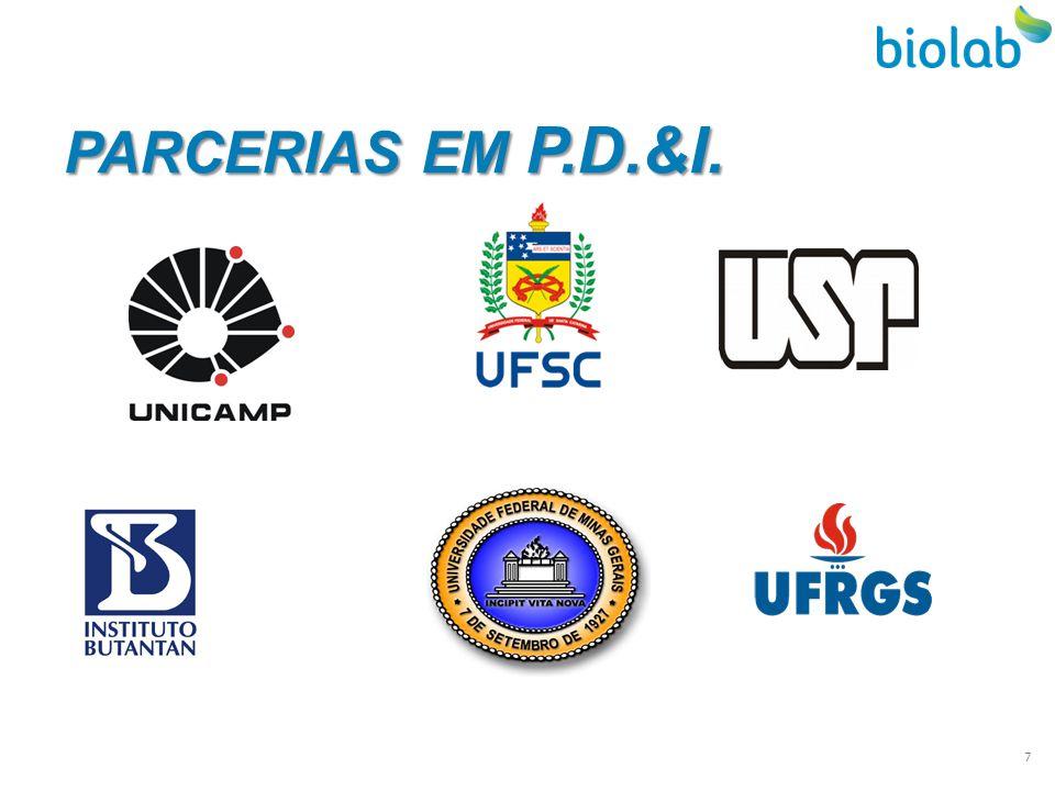 PARCERIAS EM P.D.&I. 7