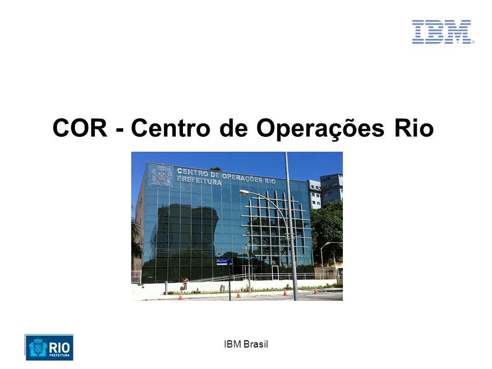O Projeto COR ganhou recebeu 02 importantes prêmios em 2011 Projeto Inovador do Ano – Revista Mundo PM IBM Outstanding Technical Achievement Award