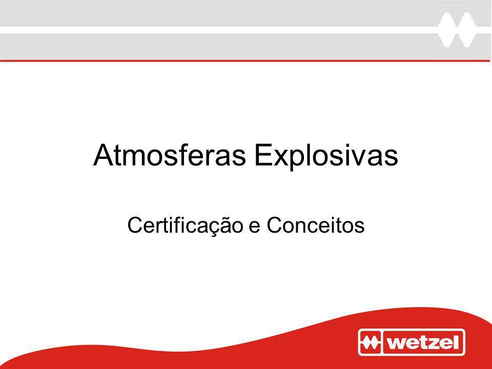 Atmosferas Explosivas Certificação e Conceitos