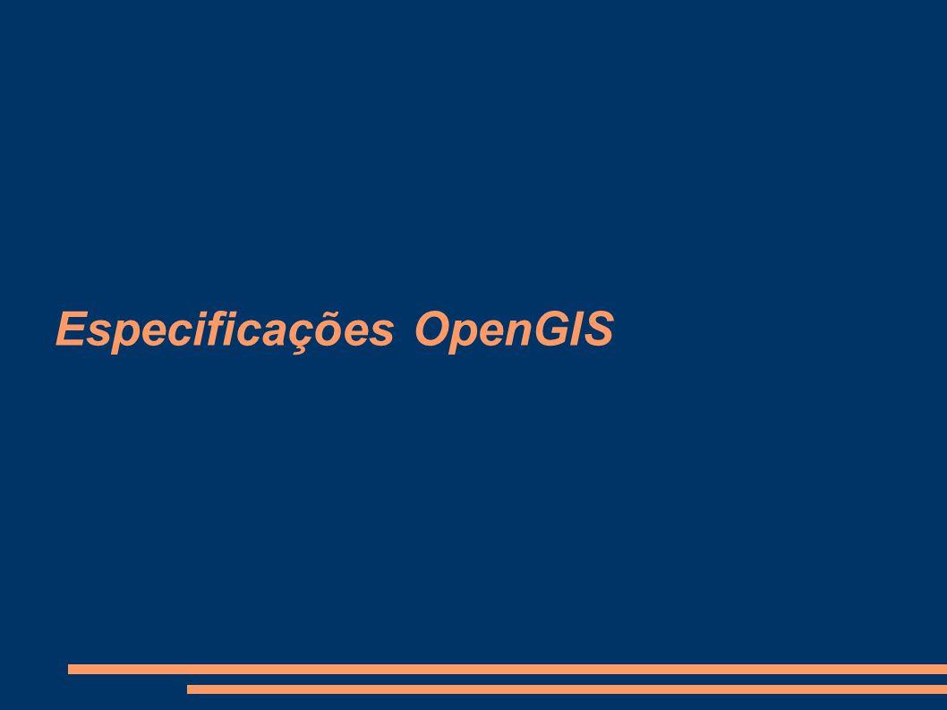 Especificações OpenGIS
