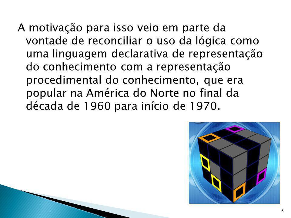 Muito do desenvolvimento moderno do Prolog veio dos projetos de computadores da quinta geração (FGCS), que desenvolveu uma variante do Prolog chamada Kernel Language para seu primeiro sistema operacional.computadores da quinta geraçãosistema operacional 7