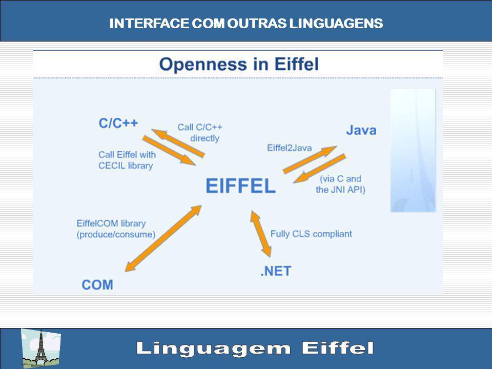 INTERFACE COM OUTRAS LINGUAGENS