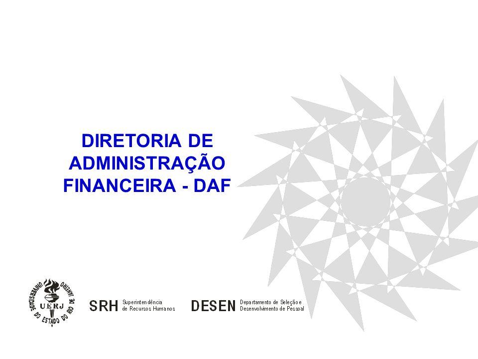 DIRETORIA DE ADMINISTRAÇÃO FINANCEIRA - DAF