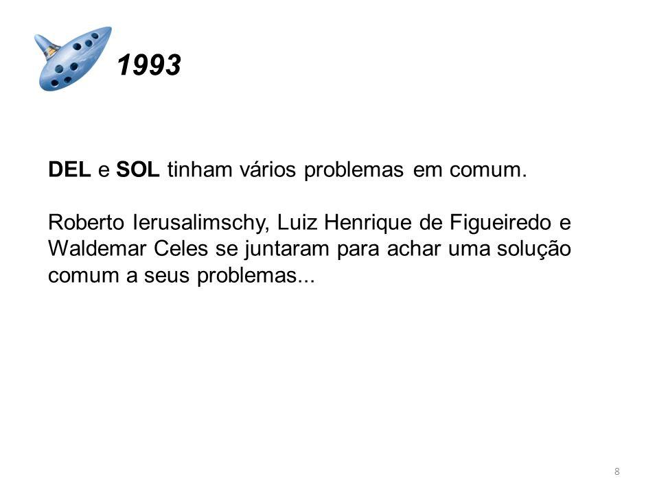 DEL e SOL tinham vários problemas em comum. Roberto Ierusalimschy, Luiz Henrique de Figueiredo e Waldemar Celes se juntaram para achar uma solução com