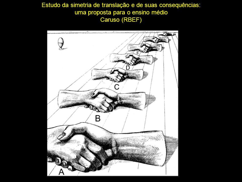 Estudo da simetria de translação e de suas consequências: uma proposta para o ensino médio Caruso (RBEF)