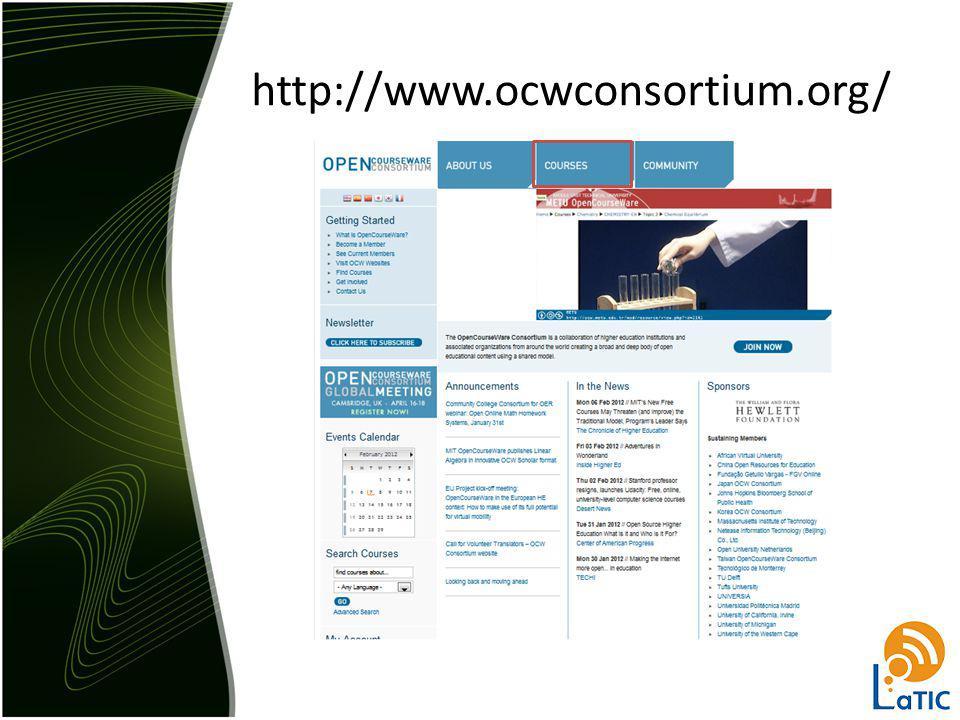 http://www.ocwconsortium.org/